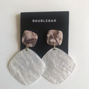 Unworn BaubleBar Statement Earrings